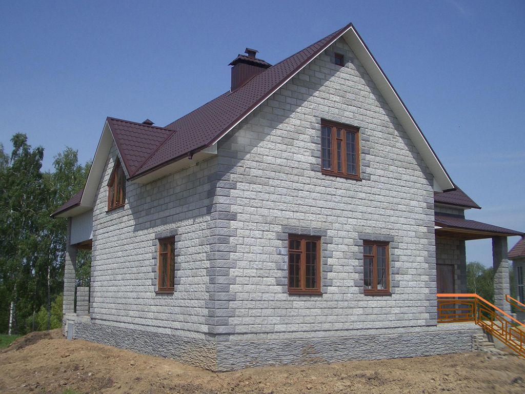 Построить дом из шлакоблока своими руками 11