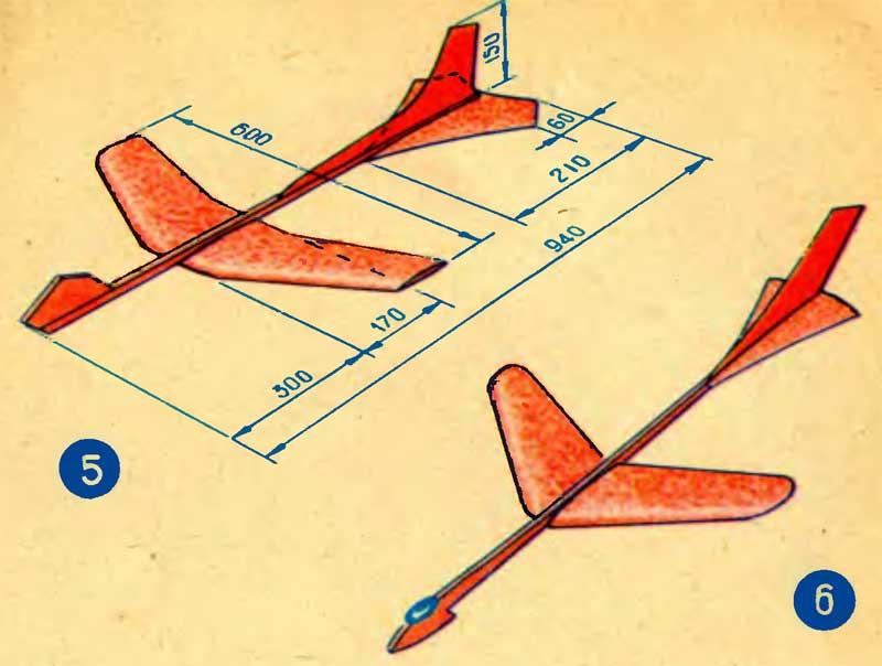 Чертежи Самолетов Из Пенопласта Своими Руками - cutmust 61