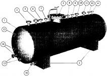 Теплообменник кожухотрубный (кожухотрубчатый) типа ТКГ Шадринск Кожухотрубный испаритель ONDA LSE 669 Уссурийск