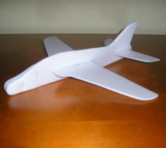 Чертежи Самолетов Из Пенопласта Своими Руками - cutmust 14