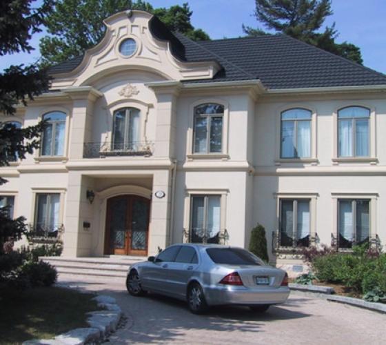 Покраска фасада дома цена москва