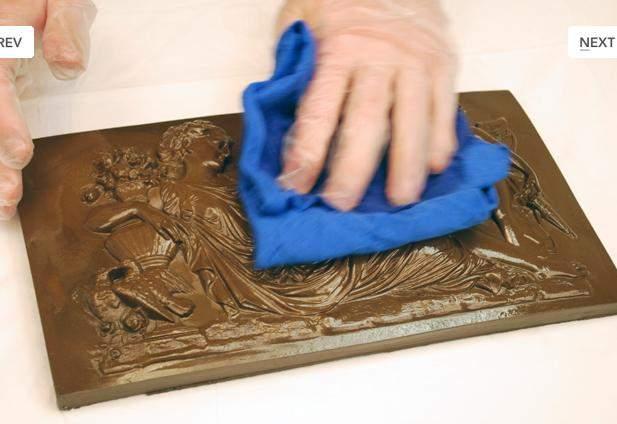 Покраска гипсовых изделий под бронзу своими руками