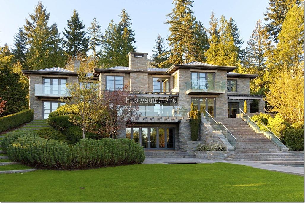 Красивые большие дома фото