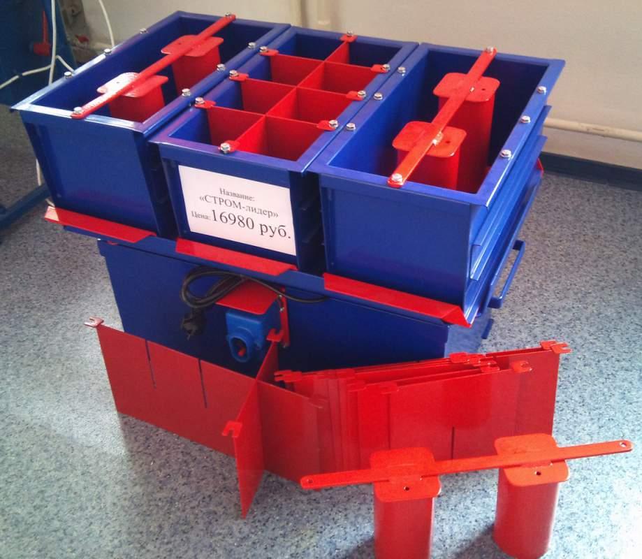 Оборудование для производства строительных блоков своими руками