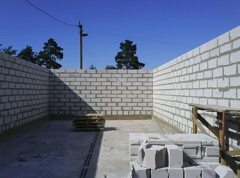Построить дом из пеноблок своими руками