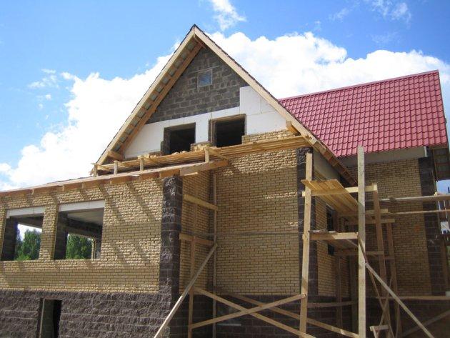 Строительство из бетонных блоков своими руками